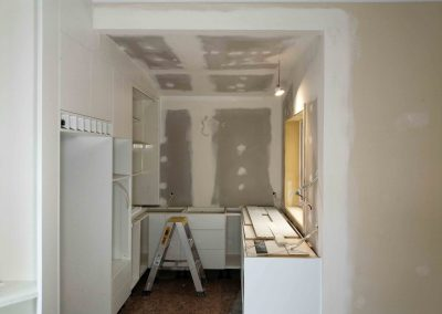 Plastering and interior painting of a house in Auckland