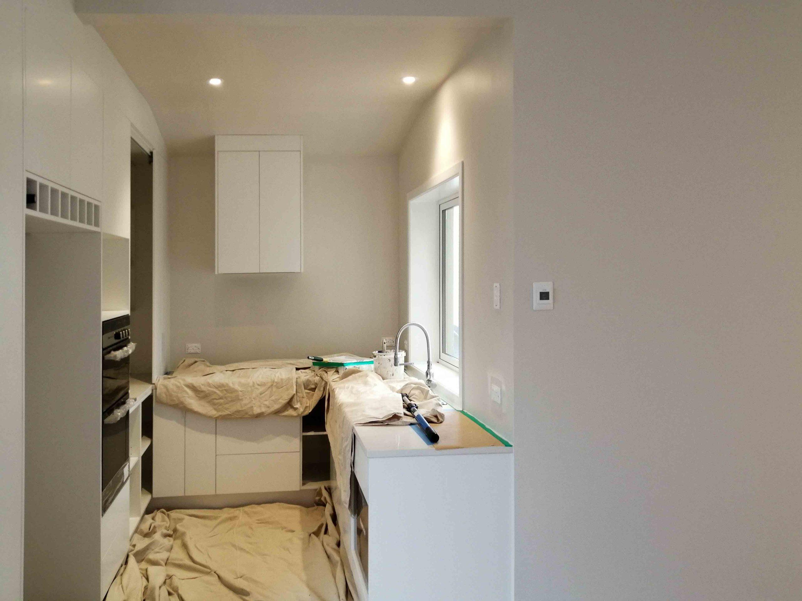 Kitchen interior painting Auckland