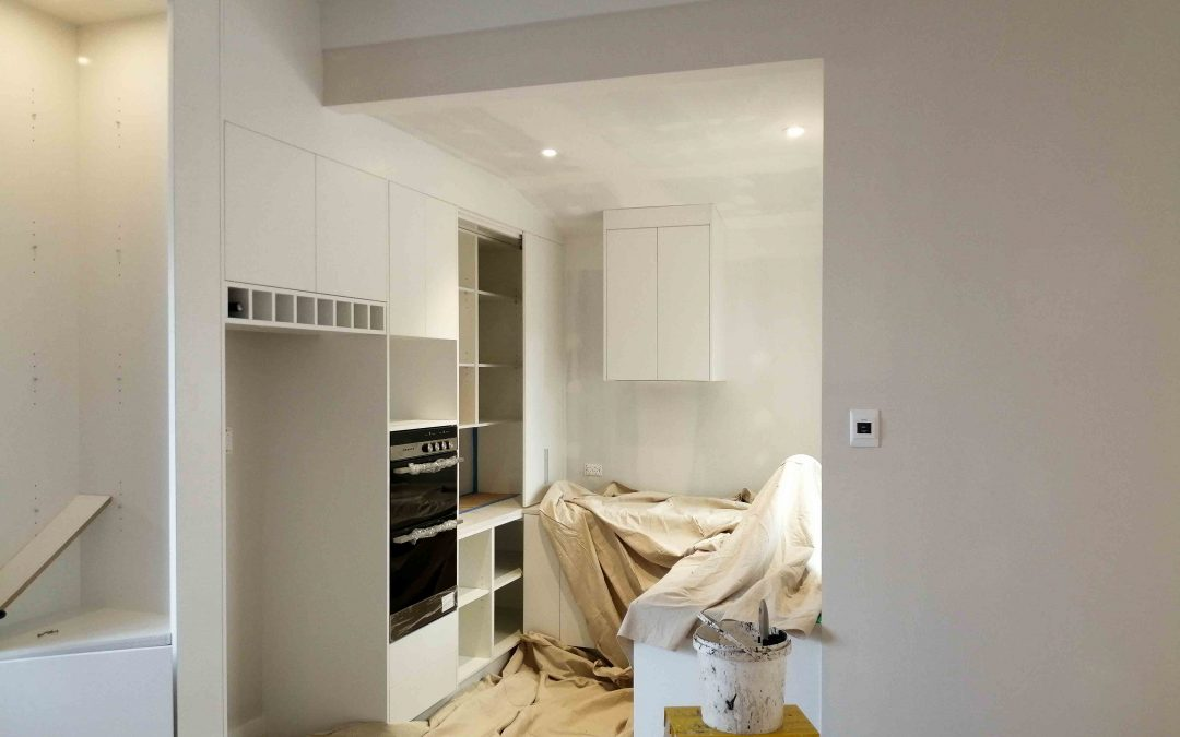 Kitchen interior painting and plastering nz